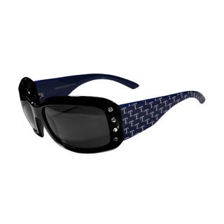 MLB Texas Rangers Women's Designer Bling Sunglasses