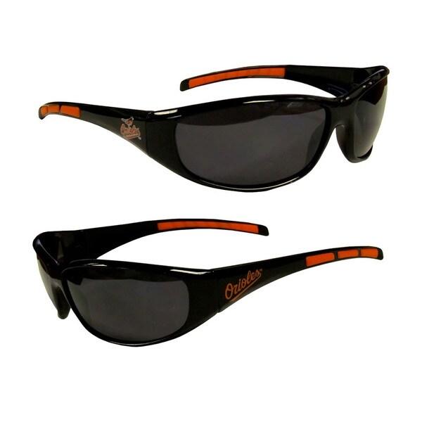 MLB Baltimore Orioles Wrap 3 Dot Sunglasses