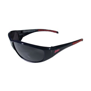 MLB Cleveland Indians Wrap 3 Dot Sunglasses