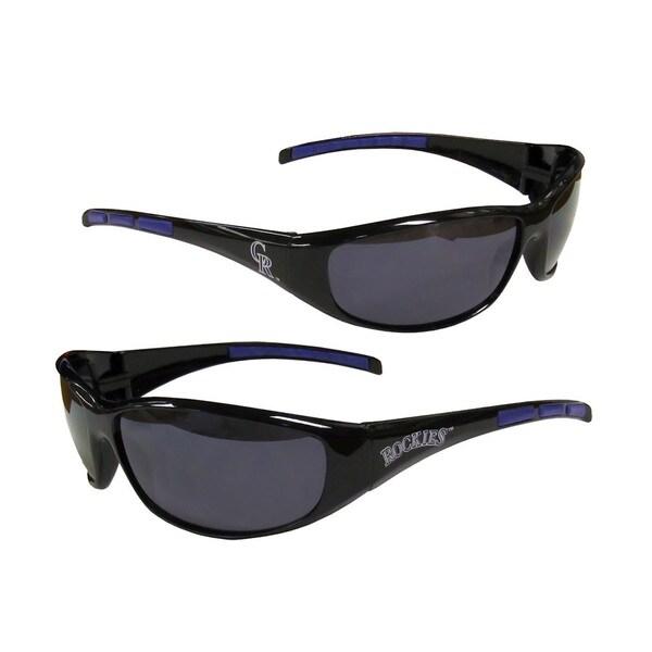 MLB Colorado Rockies Wrap 3 Dot Sunglasses