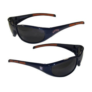 MLB Houston Astros Wrap 3 Dot Sunglasses