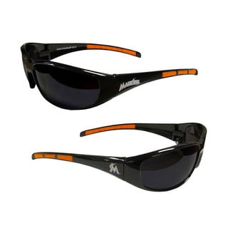MLB Miami Marlins Wrap 3 Dot Sunglasses