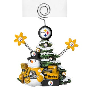 Pittsburgh Steelers Cast Porcelain Tree Photo Holder