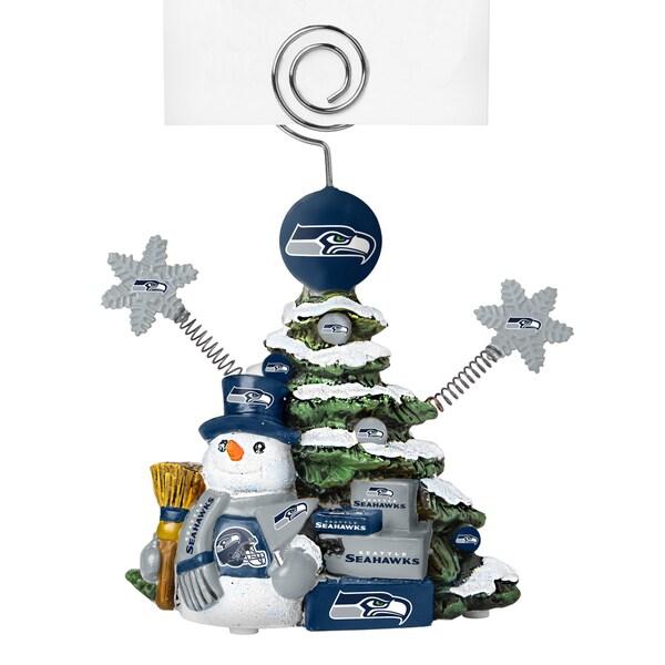 Seattle Seahawks Cast Porcelain Tree Photo Holder