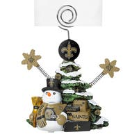 New Orleans Saints Cast Porcelain Tree Photo Holder