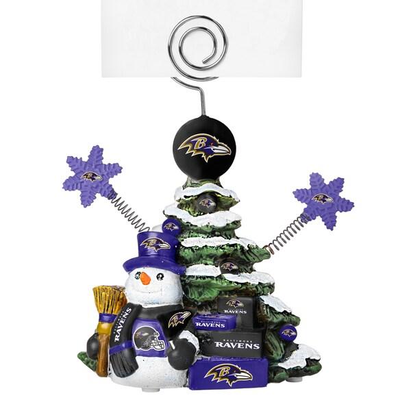 Baltimore Ravens Cast Porcelain Tree Photo Holder
