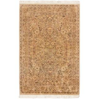 ecarpetgallery Pako Persian 18/20 Beige Wool Rug (4' x 6')