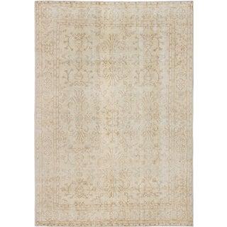 ecarpetgallery Anatolian Sunwash Yellow Wool Rug (6' x 10')