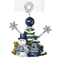 New England Patriots Cast Porcelain Tree Photo Holder
