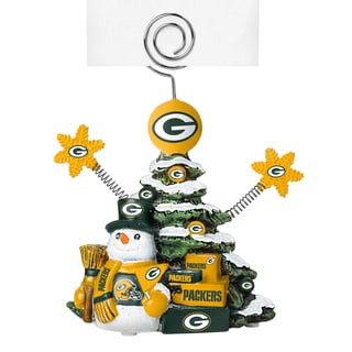 Green Bay Packers Cast Porcelain Tree Photo Holder