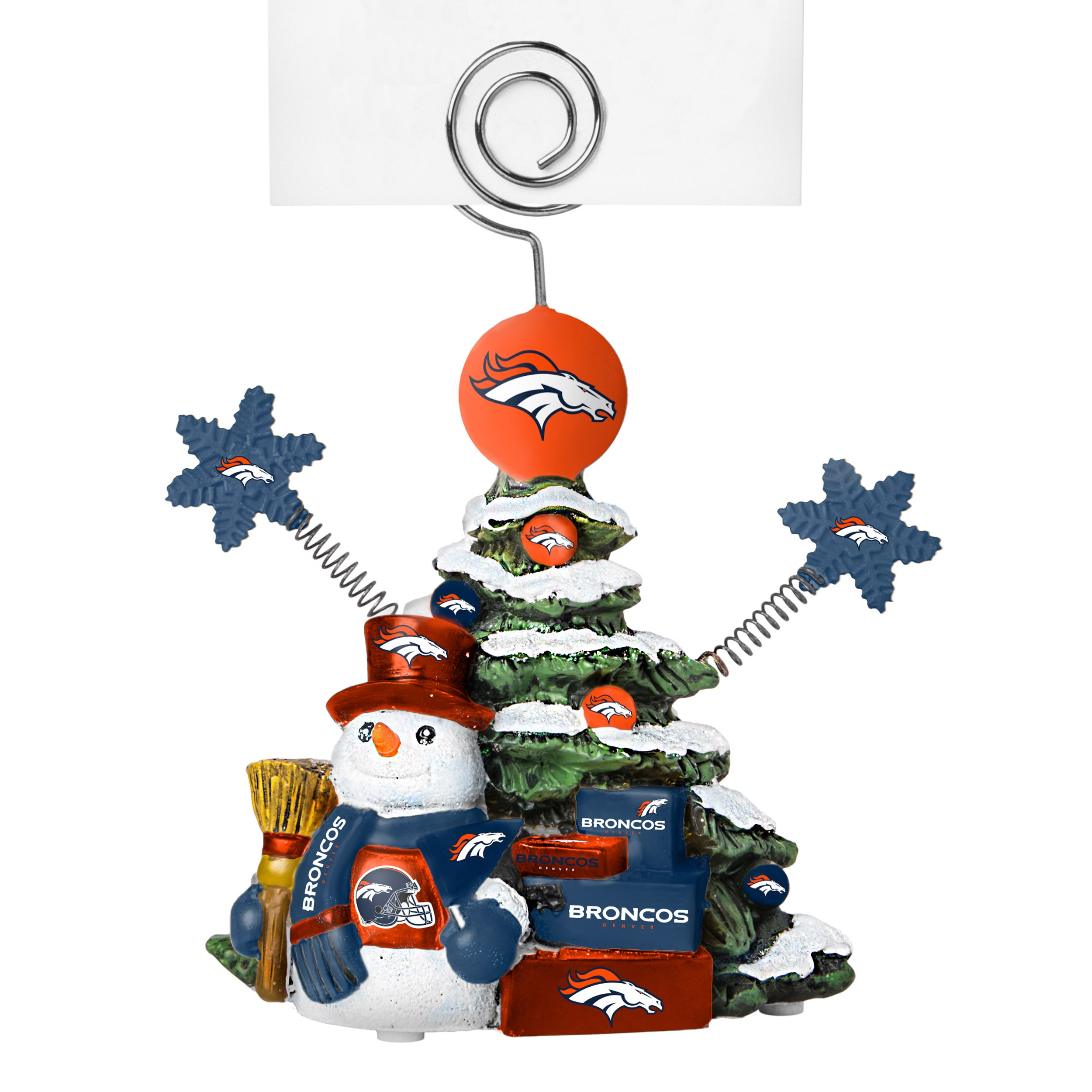 Topperscot Denver Broncos Cast Porcelain Tree Photo Holde...