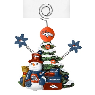 Denver Broncos Cast Porcelain Tree Photo Holder