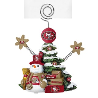 San Francisco 49ers Cast Porcelain Tree Photo Holder