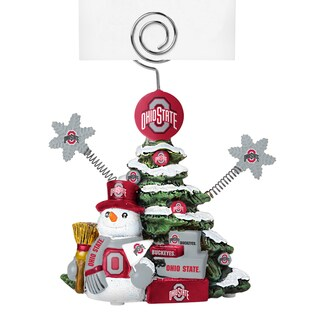 Ohio State Buckeyes Cast Porcelain Tree Photo Holder