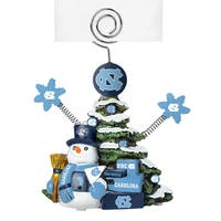 North Carolina Tar Heels Porcelain Tree Photo Holder