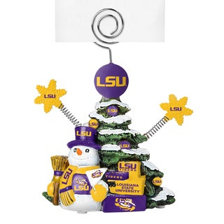 LSU Tigers Cast Porcelain Tree Photo Holder