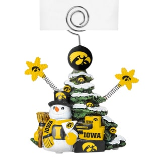 Iowa Hawkeyes Cast Porcelain Tree Photo Holder