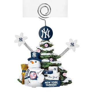 New York Yankees Cast Porcelain Tree Photo Holder