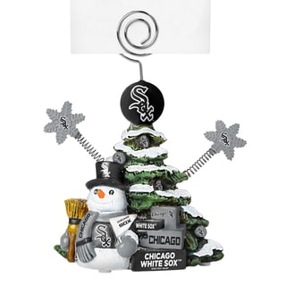 Chicago White Sox Cast Porcelain Tree Photo Holder