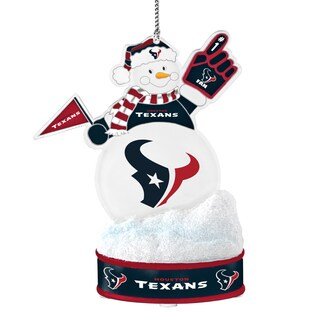 Houston Texans LED Snowman Ornament