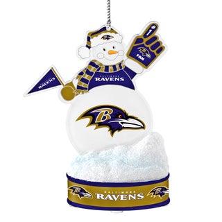 Baltimore Ravens LED Snowman Ornament
