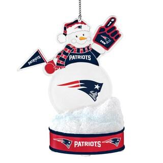 New England Patriots LED Snowman Ornament