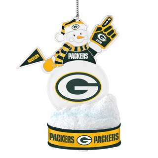 Green Bay Packers LED Snowman Ornament (Option: Green Bay Packers)