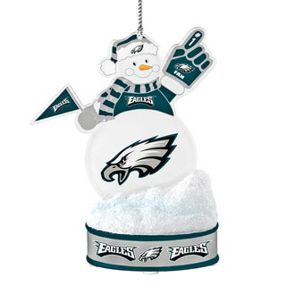 Philadelphia Eagles LED Snowman Ornament