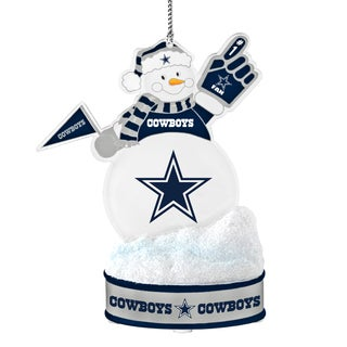 Dallas Cowboys LED Snowman Ornament