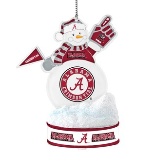 Alabama Crimson Tide LED Snowman Ornament