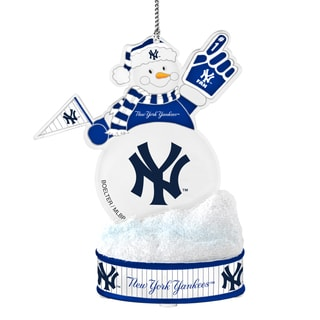 New York Yankees LED Snowman Ornament