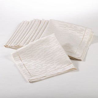 Hemstitched Design Napkin (Set of 12)