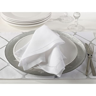 Dinner Napkin with Hemstitch Border (Set of 12)