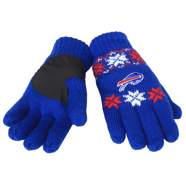 Forever Collectibles NFL Buffalo Bills Lodge Gloves with Padded Palms