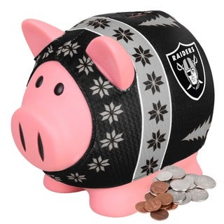 Philadelphia Eagles Busy Block Sweater Pig Bank