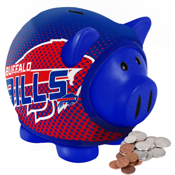 Forever Collectibles NFL Buffalo Bills Ugly Sweater Piggy Bank