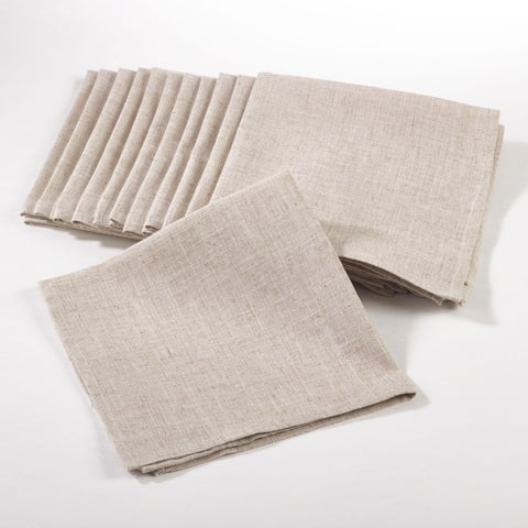 Plain Dinner Napkin (Set of 12)