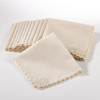 Crochet Lace Napkin (Set of 12)