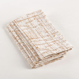 Crosshatch Design Napkin (Set of 4)