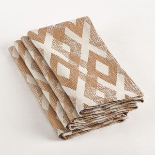 Diamond Design Napkin (Set of 4)