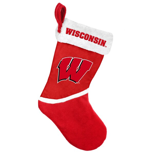 Forever Collectibles Wisconsin Badgers NCAA 2015 Basic 17-inch Stocking
