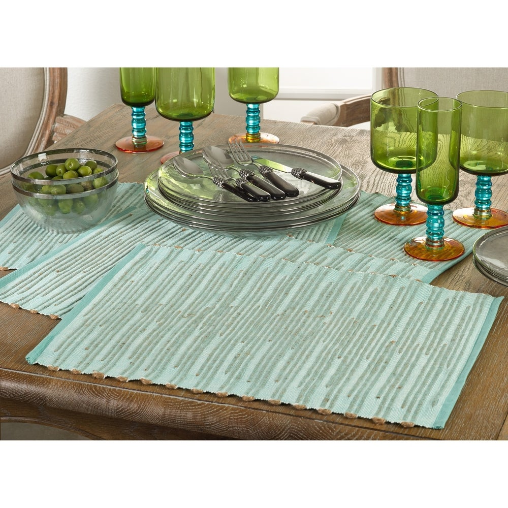 Shop Ribbed Design Placemat (Set of 4) - 10693977