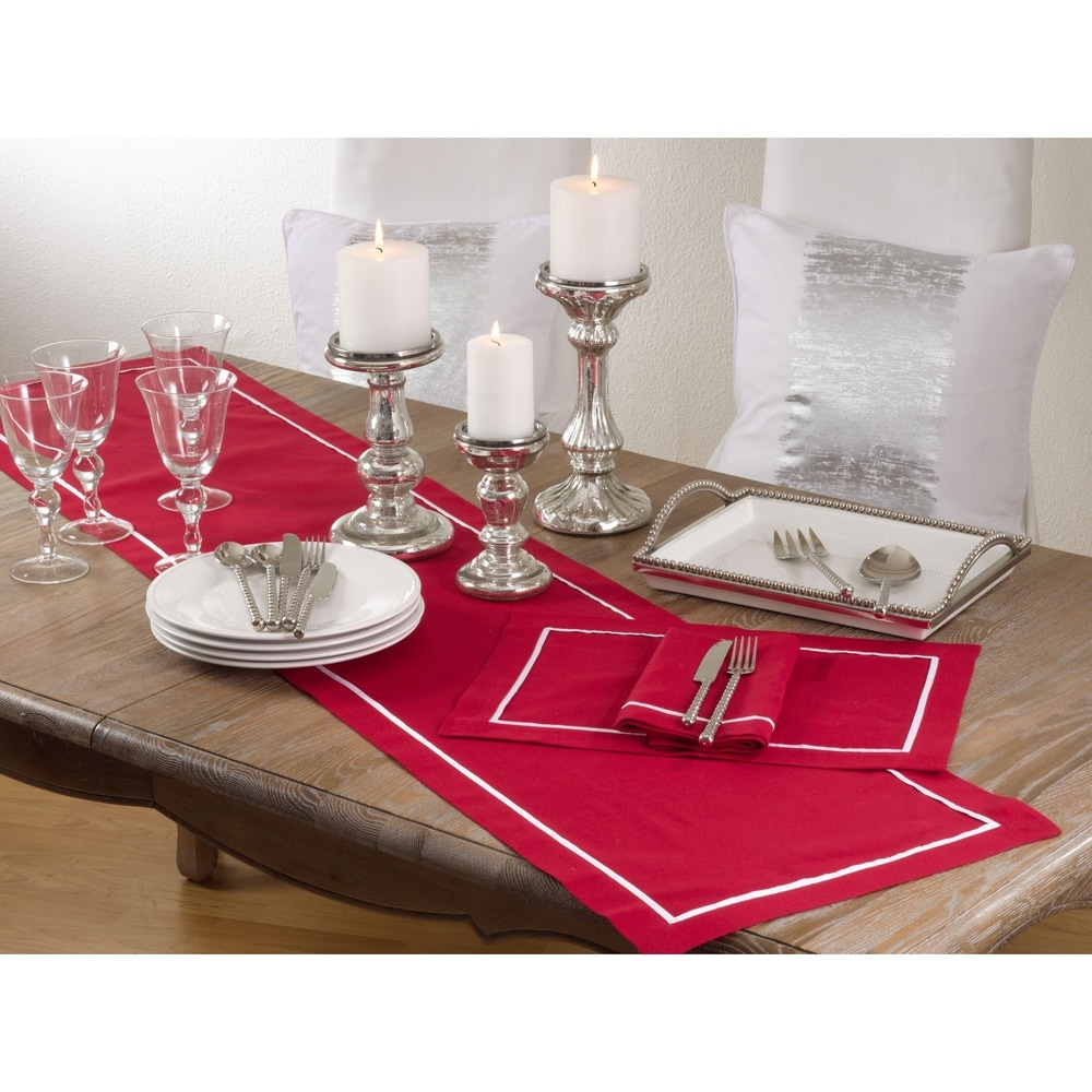 Shop Classic Border Design Placemat (Set of 4) - Overstock - 10693983