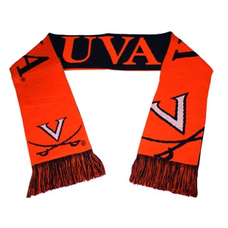 Forever Collectibles Virginia Cavaliers Split Logo Reversible Scarf