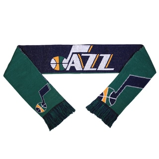 Forever Collectibles NBA Utah Jazz Split Logo Reversible Scarf