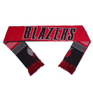 Forever Collectibles NBA Portland Trail Blazers Split Logo Reversible Scarf