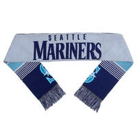 Forever Collectibles MLB Seattle Mariners Split Logo Reversible Scarf