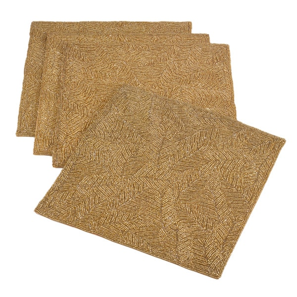 Beaded Design Placemat (Set of 4)