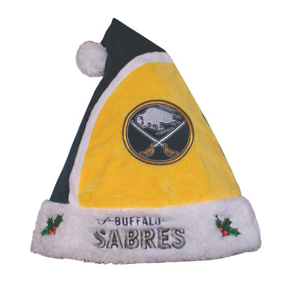 Forever Collectibles NHL Buffalo Sabres 2015 NHL Polyester Santa Hat