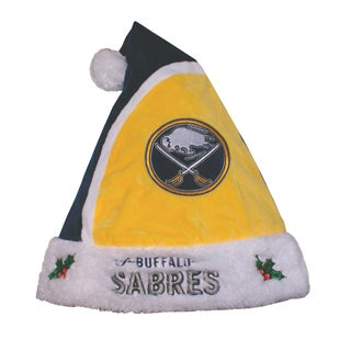 Forever Collectibles NHL Buffalo Sabres 2015 NHL Polyester Santa Hat
